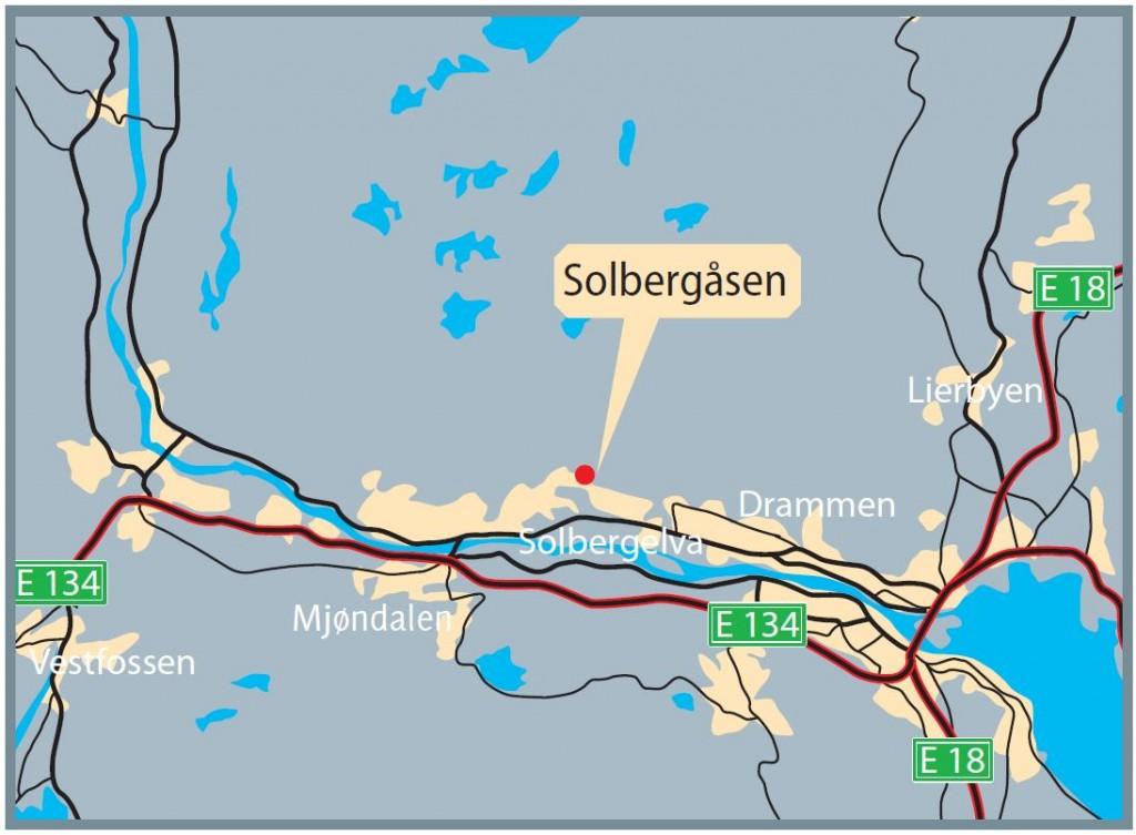Solbergaasen-oversikt